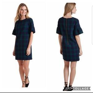 NWT Vineyard Vines Blackwatch Flutter SLV Dress